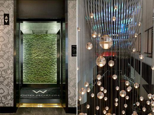 W Hotel Atlanta Interior Design By Icrave Color Home