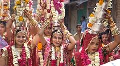 Gangaur procession, Jodhpur, Rajasthan