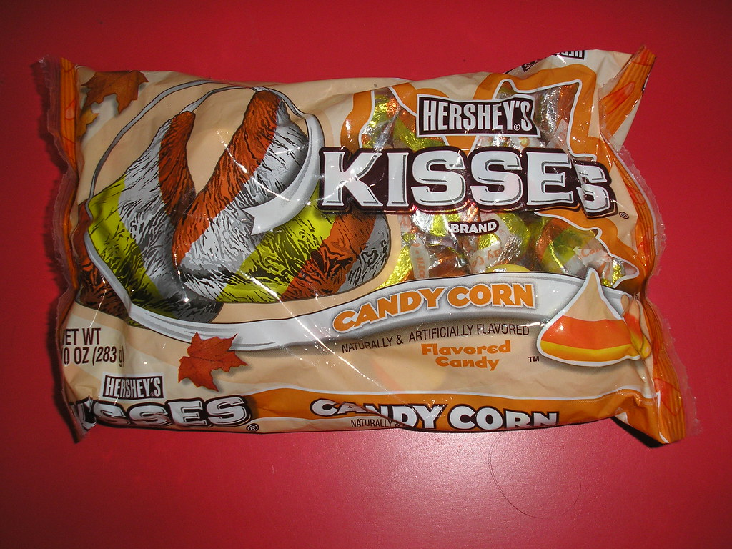 Hershey's Candy Corn Kisses