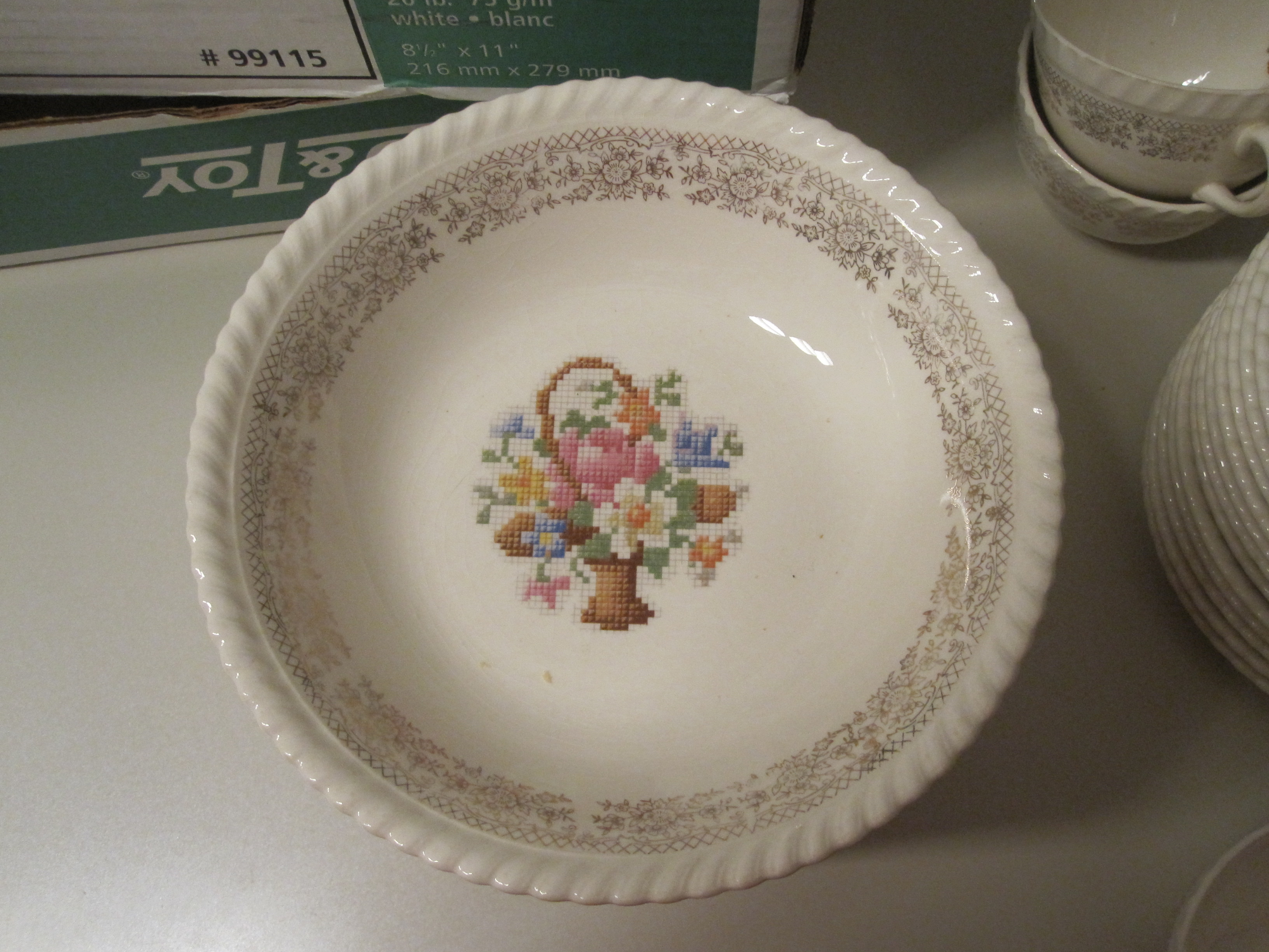Part of my granny's dinnerware