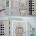 MF Shabby Chic album pages 3 & 4