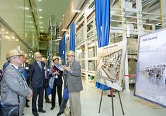 US and Russian Laboratory Directors tour LLNL