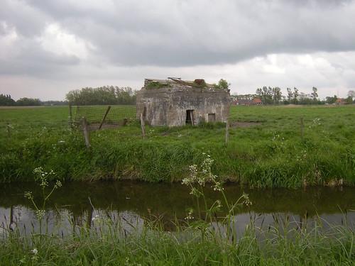 Belgische militaire post, Oudekapelle