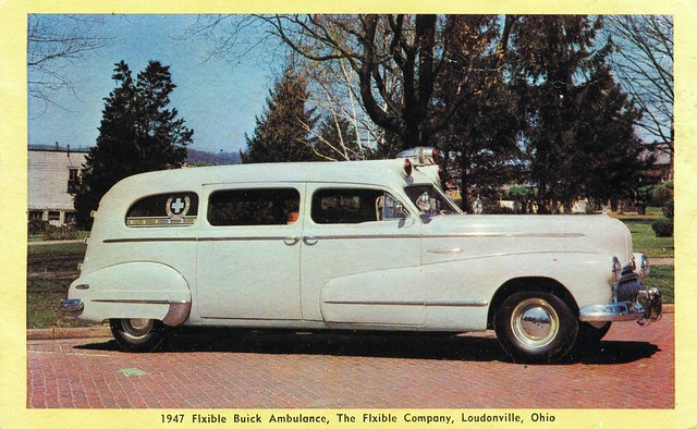 1947 Flxible Buick Ambulance