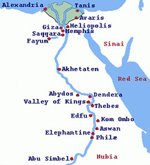 Tanis Egypt Map.Ancient Egypt Map This Is A Map Of Nile Leading From Part Flickr