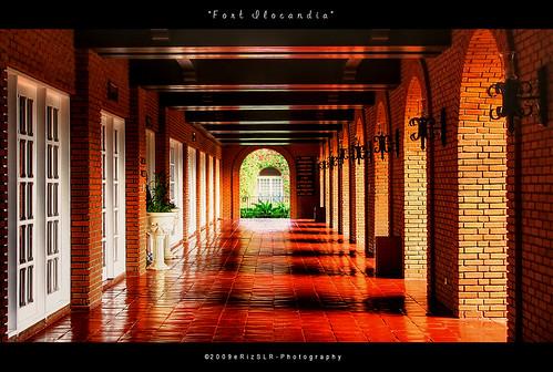 light shadows philippines hallway ilocos laoag ilocosnorte fortilocandia