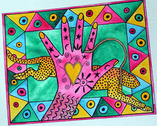 Pink Hand