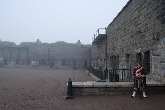 Soldier, Halifax Citadel by CC user kitonlove on Flickr