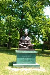 日内瓦(Geneve)  印度甘地雕塑