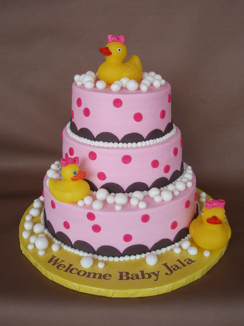 Pictures Of Rubber Ducky Baby Shower Cakes