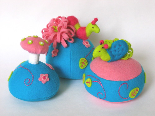 Trio of Pincushions
