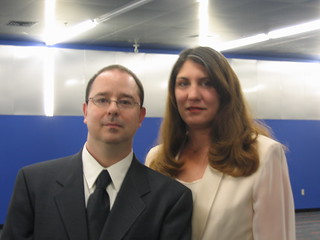 John and Krissy Scalzi