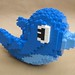 Twitter Bird made of LEGOs by elizabeth.gebhardt