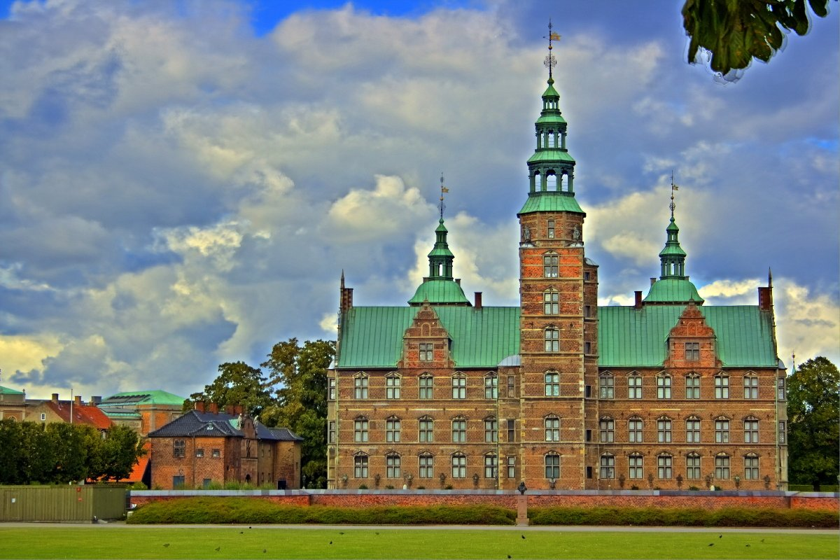 Rosenborg Castle was built by order of Christian IV 1606 - 1607  © All rights reserved René Eriksen Contact: reeri@rocketmail.com
