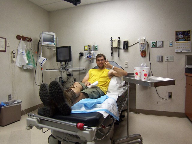 ian's visit to the er