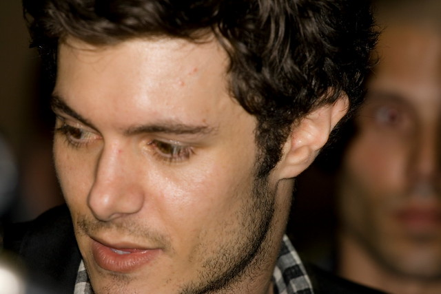 Adam Brody. At the premiere of