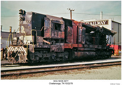 SOU SD35 3077 by Robert W. Thomson