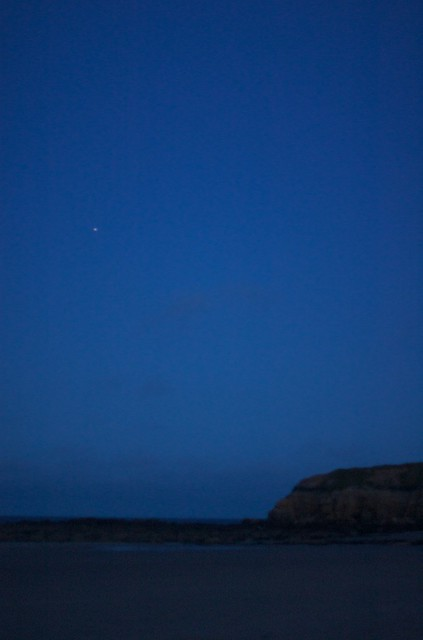 International Space Station over Tynemouth