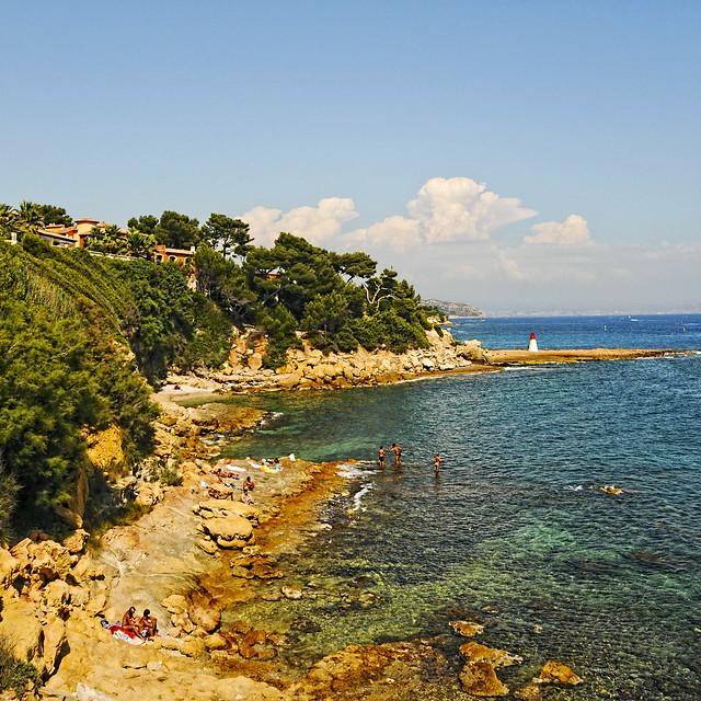 Rocky Beach South Of France
