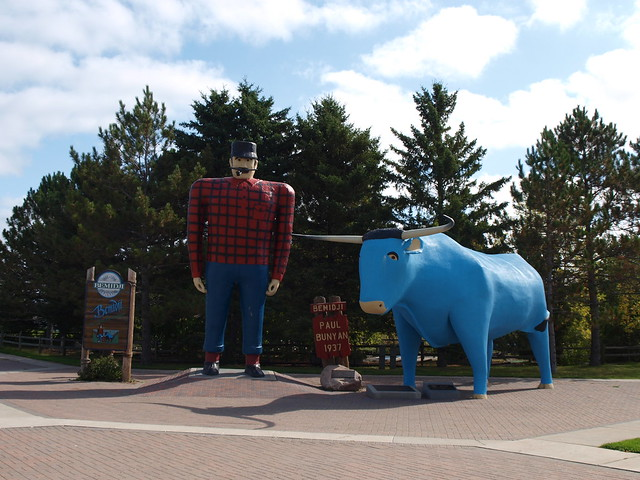 Paul Bunyan and the Big Blue Ox