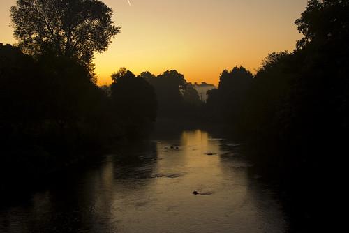 Sunrise on the Taff