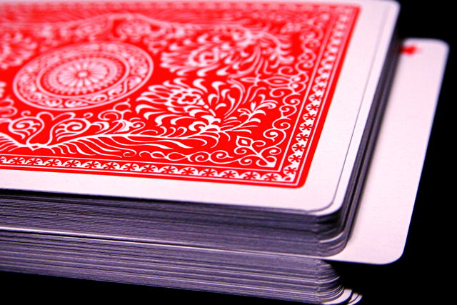 Card Deck Trick Magic Macro 10-19-09 1 from Flickr via Wylio