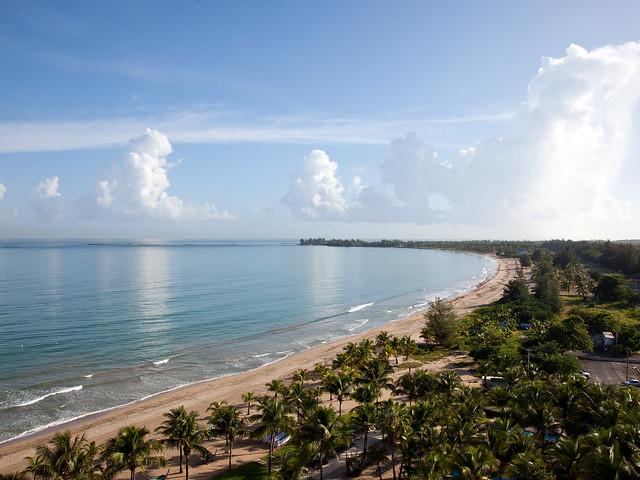 пляж в Сан-Хуане в 5-дневном маршруте Пуэрто-Рико