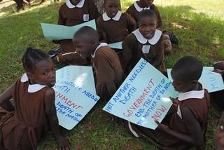 school children at mityanaKC Sharifah Nabukenya