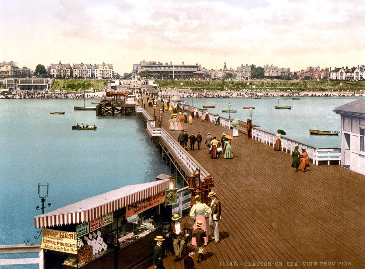 Clacton Pier, Essex, 1895