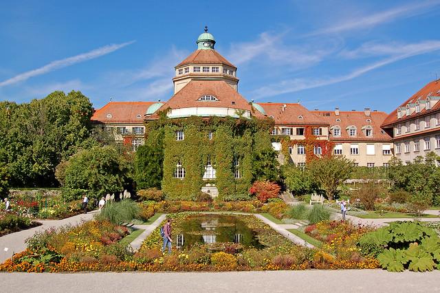 München - Schloss Nymphenburg (29) - Botanischer Garten - Historisches Botanisches Institut