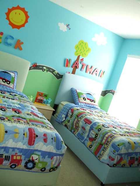 Car Themed Boys Room Flickr Photo Sharing