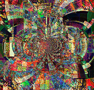 Digital Crazy Quilt