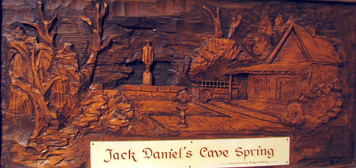 Jack Daniels Cave Spring etching