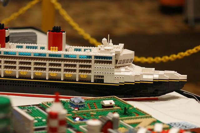 LEGO Disney Cruise Boat MOC A Gallery On Flickr - Toy disney cruise ship