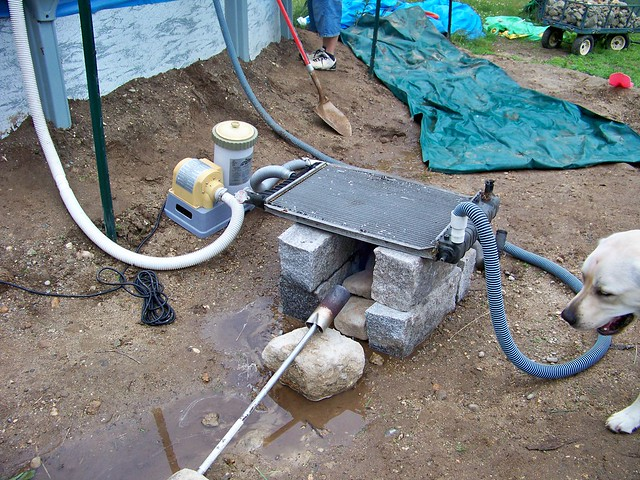 Mike's homemade pool heater! | Flickr - Photo Sharing!