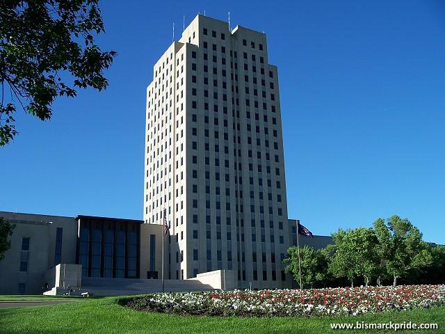 North Dakota State Capitol  Bismarck  Flickr  Photo