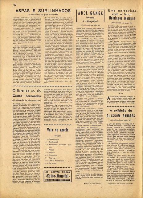 Século Ilustrado, No. 528, Fevereiro 14 1948 - 20