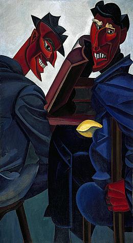 Lewis, Wyndham (1882-1957) - 1920-21 A Reading of Ovid (Tyros)