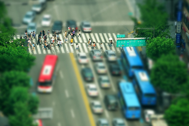 Miniature Pedestrian Crossing