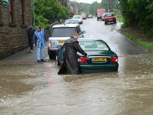Crane Moor Road Flood