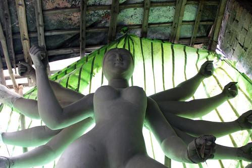 Durga at Kumartoli