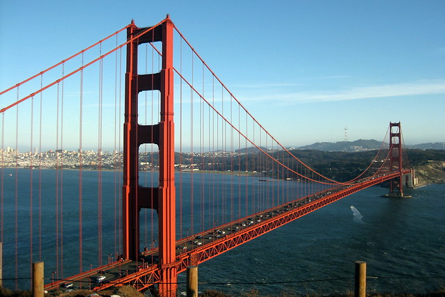 Golden Gate Bridge à San Francisco - Photo de Wally Gobetz