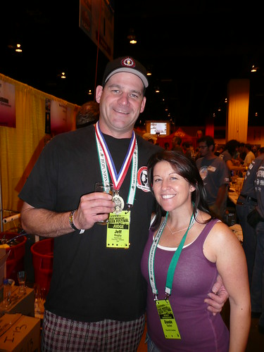Jeff Bagby & His Girlfriend, from Pizza Port - Carlsbad