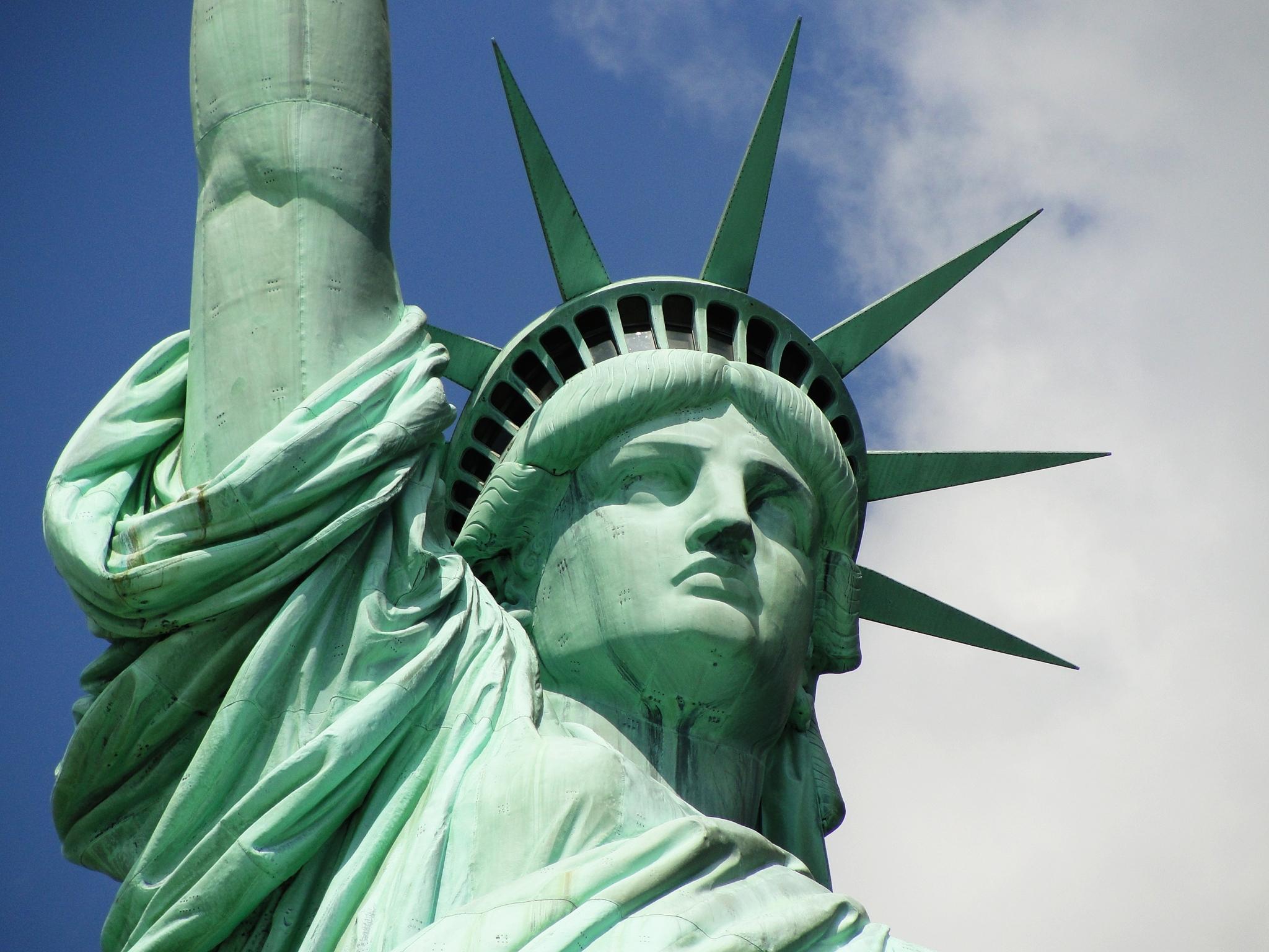 Estatua de la libertad 2 contrapicado sep 18 flickr for Interior estatua de la libertad