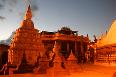 ancient history, temple, building, hindu temple, landmark, evening, place of worship, pagoda,