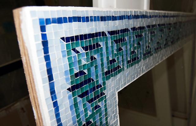 Flickriver photoset 39 mosaici in vetro con specchio 39 by vero s n c di girardi - Specchio mosaico vetro ...