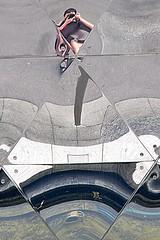 1 - 2 mai 2011 Paris La Villette La Géode Reflets Autoportrait