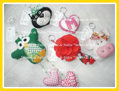 Encomendas da Adriany by ♥ Mimos de Feltro by Angela Mary® ♥