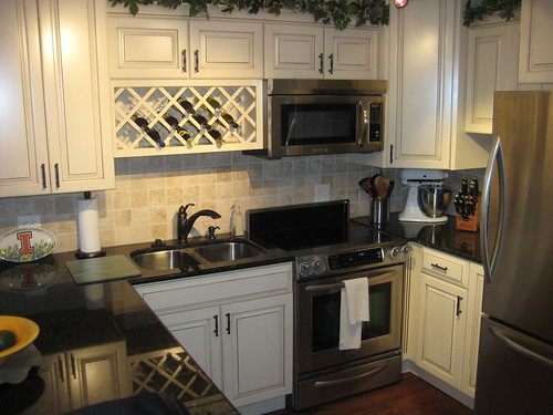 completed kitchen remodel
