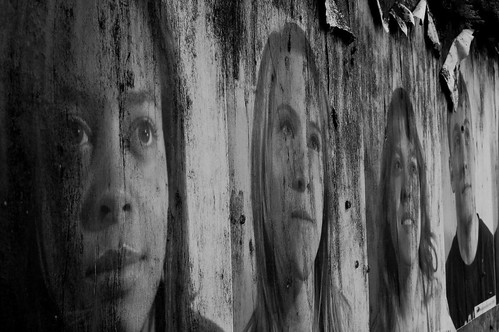 weathered portraits